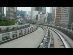 バーチャル ゆりかもめ・東京|075|左下ーLeft Lower|Virtual Yurikamome Tokyo - cheritube - YouTube