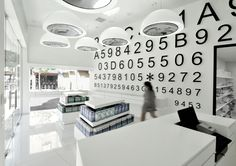 The project is an interior design for a concept store, the  first one the and only in Israel that is entirely focused on the sale of contact lenses. Miss Lee Design