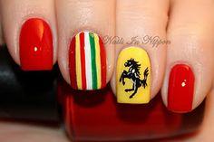 :) Ferrari nails