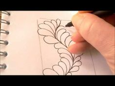 How to draw tanglepattern Flux (along a wavy line)