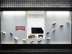 Stealthily Shelved Shops - The New York Camper Shoe Store is Full of Surprises (GALLERY)