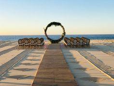#Wedding True love stories never have endings. Sunset Beach Weddings, Sunset Wedding, Dream Wedding, Wedding Planer, Destination Wedding Locations, Ceremony Backdrop, Cabo San Lucas, Mexico Travel, Backdrops