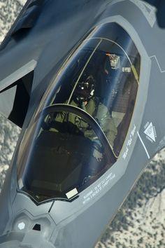 F-35A Cockpit