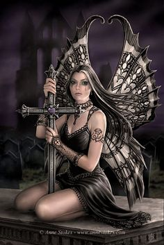 Gothic Fairies | Fairy Art: Pictures of Fairies - Fairies Illustrations