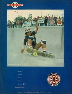 Independent ad May 1979 skateboarder mag Skate Photos, Skateboard Pictures, Vintage Skateboards, Skateboarding, Bmx, Old School, Surfing, Truck, Stone Age