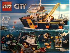 The Lego City Deep Sea Exploration Vessel - a great selection of Lego construction sets at Wonderland Models.