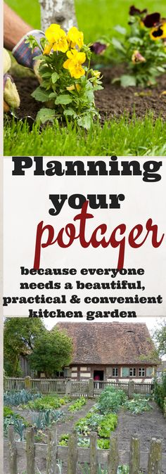 You have your garden goals, now it's time to plan your practical and beautiful potager or kitchen garden via @justplainmarie