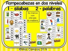 CONSONANTES - LA LETRA L L - ( LA, LE, LI, LO, LU ) BUNDLE - Fichas, trabajos y rompecabezas para la letra L, sonidos iniciales, silabas iniciales, palabras de uso frecuente, y mas. 58 PAGINAS EN TOTAL