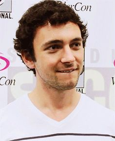George Blagden; He just does these....things