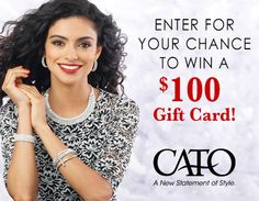 6 people will receive a $100 Cato gift card.