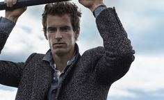 """""""Mr. Andy Murray"""", an interview by Mr. Porter Journal..... WOW, this pic, he looks so HOT!!!"""
