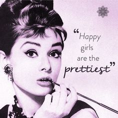 """Poshly on Instagram: """"#AudreyHepburn is our #FlashBackFriday inspiration! Have a great Friday Gorgeous! #fbf #icon #beauty #qotd #inspiratio..."""
