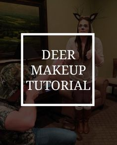 I spent a few night trying out different products to create something perfect. And this year, I am sharing the wealth with a deer costume makeup tutorial.