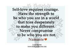 self-love courage