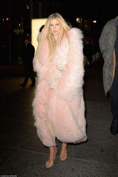 thierry mugler showgirl fur fashion - Google Search