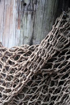 Retired Netting, waiting for a new purpose...
