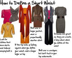 How to define a short waist