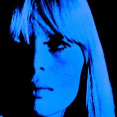 Nico & the velvet undergound song The Femme Fatale Andy Warhol, Neon Rose, Verde Neon, Grunge, Girly, Monochrom, Blue Aesthetic, Wall Collage, Shades Of Blue