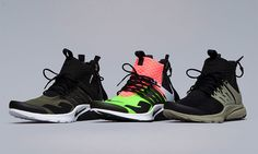 A Detailed Look at All Three Colorways of the ACRONYM x NikeLab Air Presto Mid | Highsnobiety