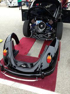 VW with take down rear end.