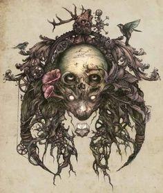 Skull Art by DZO Oliver ☠️