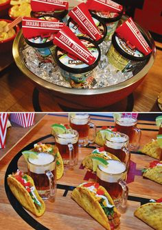 """Slam Dunk Indiana Basketball Party: – """"Jump Shot O'Beer"""" paired with tiny """"Free Throw"""" Tacos"""