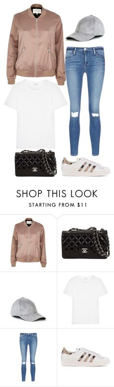 """Purpose gives you passion, hope and it gives you a future!"" by kwasheretro on Polyvore featuring River Island, Yves Saint Laurent, Frame Denim and adidas Originals"
