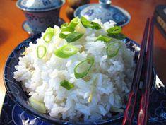Przepis na Ryż imbirowy - MniamMniam.com Grains, Food, Essen, Meals, Seeds, Yemek, Eten, Korn
