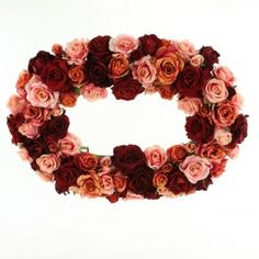 Better look at the rose wreath.  I like the colors and texture on it.  Of course, I'm colorblind, so you should probably trust your own judgment on the colors.