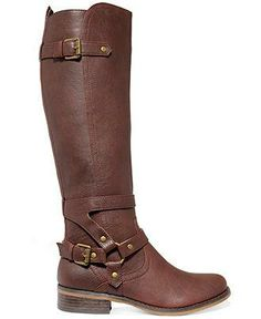 Buckle up, its going to be a stylish year — G by Guess riding boots