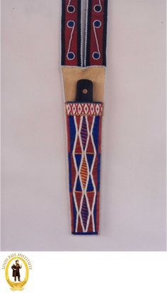 Metis Beadwork: Knife Scabbards - Read online for free. Metis Beadwork:The artwork of the late Metis artist Gary Johnson is featured in this photo essay. Seven Years' War, Knife Sheath, Red River, Photo Essay, First Nations, Beadwork, Knives, Native American, Canada