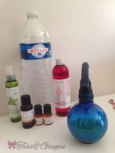 Le vaporisateur hydratant