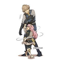 Lazlow and Soleil possibly my favorite father daughter relationship in fates
