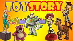 Toy Story Family Finger Family Collection - Finger Family Songs Toy Stor...