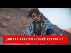 Johnny Depp Whatsapp Status # 3 - YouTube Anime Websites, Jonny Deep, West Bengal, I Hope You, Youtube, Projects, Fictional Characters, Log Projects, Blue Prints