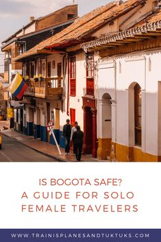 """Nervous about safety in Bogota? These tips will help even the most nervous traveler answer the question, """"Is Bogota safe,"""" with a definitive YES. South America Destinations, South America Travel, Travel Destinations, Dog Travel, Family Travel, Travel Guides, Travel Tips, Travel Advice, Voyager Seul"""