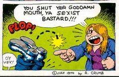 Comic sexista bastard