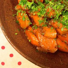 Gingered Carrots ~ a simply delightful way to elevate the common carrot ~ Gluten Free naturally. Vegetable Side Dishes, Side Dish Recipes, Ratatouille, Chicken Wings, Vegetables, Ethnic Recipes, Carrots, Gluten Free, Food