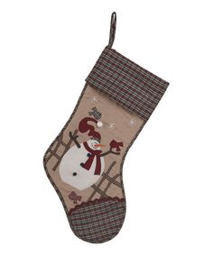 Loving this Country Holiday Stocking Set on #zulily! #zulilyfinds
