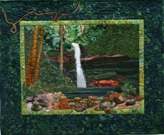 """""""Forest Waterfall"""" - Anne Maundrell"""