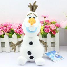 Олаф плюшевые детей игрушки каваи 20 см снеговик мультфильм плюшевые игрушки куклы мягкие игрушки Brinquedos Juguetes подарков для девочки детские купить на AliExpress