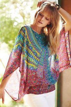 Marpesia Kimono Top