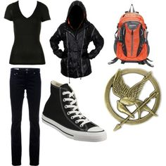 """The Hunger Games! You could totally wear this and people would be like """"cool outfit"""" instead of """"dude, you're a hunger games freak"""""""