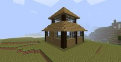 simple minecraft house blueprints - Google Search