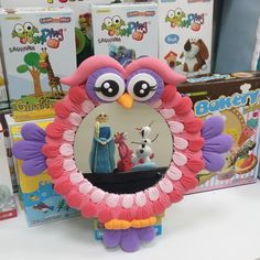 JumpingClayin sıcacık renkleri baharı evinize getiriyor! #jumpingclaytr #baykuş #owl #ayna #mirror Owl, Frame, Instagram Posts, Home Decor, Decoration Home, Owls, Frames, A Frame, Interior Design