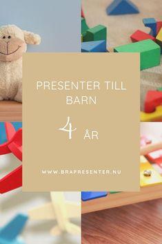Presenter till barn som fyller 4 år - En sida med många fina och roliga födelsedagspresenter som passar fyraåringar.
