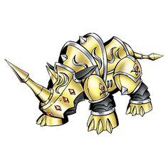 Rhinomon - Patamon Armor Digivolution through the Digi-Egg of Miracles