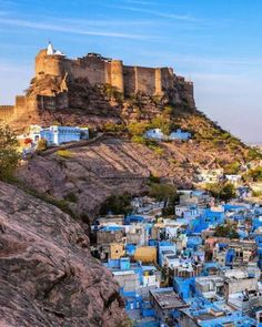 Photography ,Fine art and sometimes History — Mehrangargh Fort, Jodhpur, India. Built, c. India Landscape, Places To Travel, Places To Go, Travel Destinations, Weather In India, Backpacking India, India Travel Guide, India Culture, Visit India