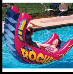 Looks like fun! Pool float.