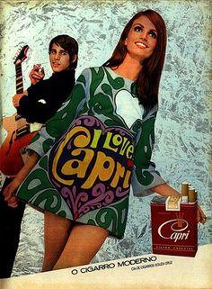 Capri cigarettes 60's